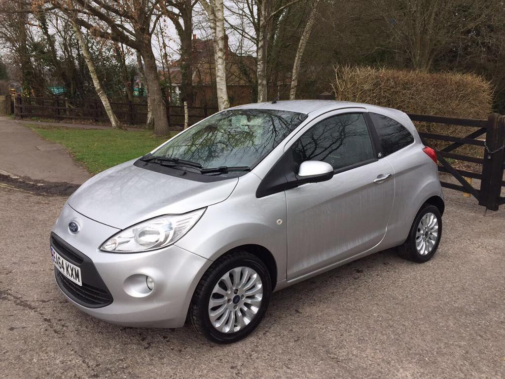 Ford Ka Silver   Metal Hatchback One Year Mot  Miles Only Cat C Immaculate