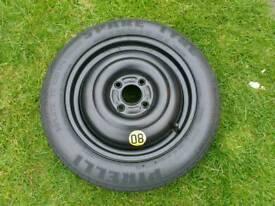 Car space saver spare tyre