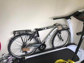 Lombardo Visoke 270 Men's Bike Silver Black Hybrid