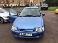 Mitsubishi Spacestar 1.3cc--8 months mot,service history,alloys,ac,cd,excellent runner,clean,
