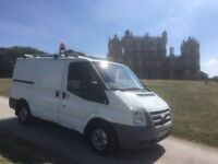 FORD TRANSIT EX BT *LOW MILES*, 2.2 TDCi, SWB 07 REG, TWIN SIDE DOORS, and 12 MONTHS MOT.. NO VAT!