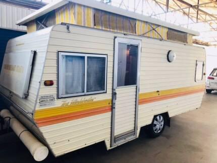 Poptop Caravan - Windsor 17ft (Bunks & Annex) Croydon Park Port Adelaide Area Preview
