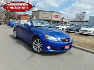 2010 Lexus IS250C CONVERTIBLE-RARE!!!6SPD MANUAL