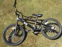 Haro BMX Bike, Used, Needs Tire (with stunt pegs)