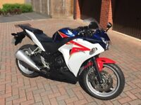 Honda CBR250R - Excellent Condition, ABS, Heated Grips, MOT to May 2019, Full Service History