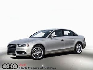 2014 Audi A4 2.0 Technik *Certified LOW MILEAGE*