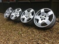 """Set of 4 Land Rover Discovery 3 19"""" Alloy Wheels"""
