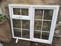 uPVC double glazed window.