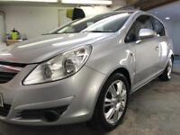 2008/58 Vauxhall Corsa 1.2 design 5 door manual hatchback