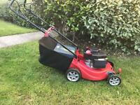 Sovereign self propelling petrol lawn mover