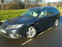 2011 SAAB 9-3 1.9 TTID4*TURBO EDITION*FSH*LEATHER*P/SENSORS*CHEAP TAX+INS*MINT COND'N*#AUDI#BMW#AERO