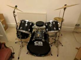 CB Drums 8 Piece Drum Kit with Paiste 101 Symbols