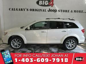 2014 Dodge Journey R/T, AWD, Leather, DVD, Sunroof, 7 seats