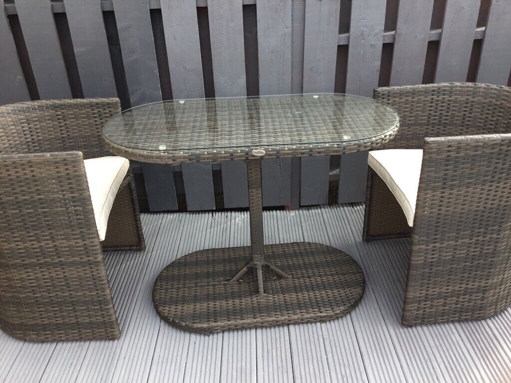Phenomenal Pagoda Hideaway Rattan Table And Chairs Condition As New Brown Black With Light Gray Cousins 12 In Kirkintilloch Glasgow Gumtree Beutiful Home Inspiration Aditmahrainfo
