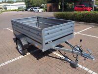 Brenderup 1205XL 55cm side car box trailer THULE
