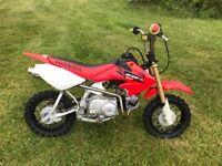 Honda CRF 50 70cc kit 2004