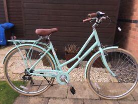 Pendleton Somerby Hybrid Ladies Bicycle - Mint Green