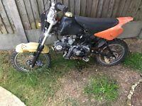 X sport 110cc pit bike