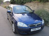VAUXHALL CORSA SXi 1.2i 16V 3 DOOR 11 SERVICE STAMPS ONLY 42K MILES.