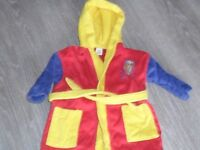 Bob the builder dressing gown 18mnths-2yrs