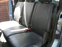 van rear seats camper van