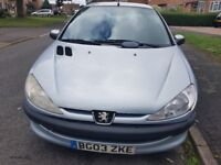Peugeot 206 Spares and Repairs (+ brand new Air Con Unit)
