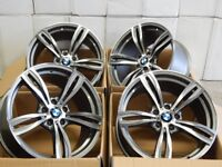 Brand new bmw Alloys 18 or 19 inch staggered 5x120