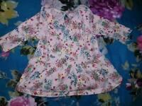 Baby GAP floral dress. 0-3 months