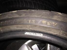 Bridgestone 225/40/19