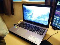 Gaming Laptop, Asus X555L i7, Nvidia graphics