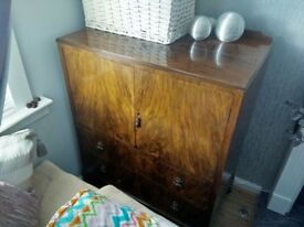 Antique dining room sideboard