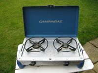CAMPINGAZ CAMPING KITCHEN, GAS COOKER/STOVE