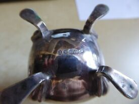 lovely old collectible Silver Pepper Pot condiment