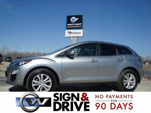 2012 Mazda CX-7 GS AWD *Leather/Sunroof/Loaded*