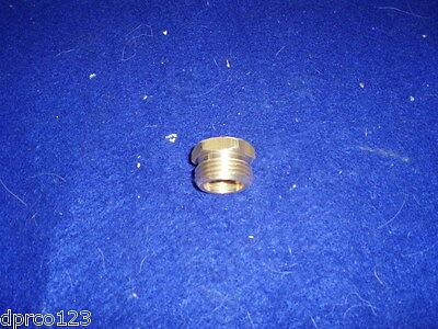 """Brass Hose Adapter 3/4"""" MHT x 1/2"""" FIP Garden Hose Adap MALE HOSE x FEMALE NPT"""
