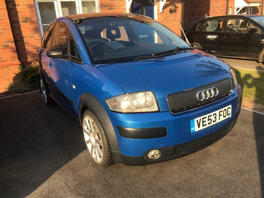 sold now audi a2 14 tdi diesel  in andover hampshire