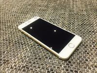 IPHONE 6 gold 16gb 02 NETWORK GOOD CONDITION CLEARANCE PRICE BARGAIN 07517206039