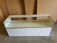 Rectangle Glass Counter, Retail, Perfect Condition. Cheapest Available on Market and Gumtree.