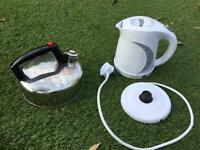 Whistles kettle and low amp kettle