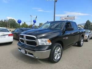 2014 Ram 1500 SLT-Balance of Factory Warranty