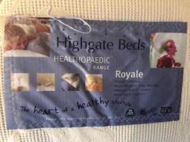 Highgate single bed with mattress
