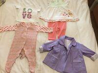 Pretty 0-3 month baby girl bundle