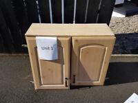 3 Kitchen Pine PVC units