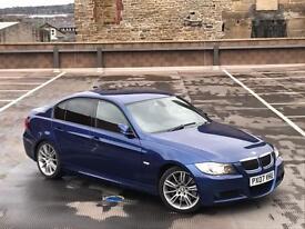 BMW 335D M SPORT AUTO + XENONS + SAT NAV + LEATHER