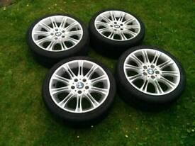 "Genuine BMW MV2 Alloy Wheels 18"""
