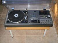 Sharp SG400E retro stereo unit, late 1970's