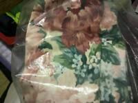 John Lewis floral full lounge curtain set excellent condition