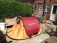 Job lot of 3 tents one pop up and two dome selling job lot cheap