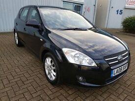 KIA Cee'D 1.6 CRDi LS Hatchback 5dr £3,095 p/x welcome 3Months Warranty, £30 Road Tax