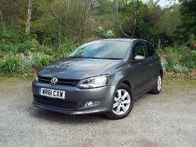 VOLKWAGEN POLO 1.4 MATCH 2011, Low Mileage, 6 MONTHS WARRANTY INCLUDED